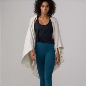 NWT Lululemon sage scarf cotton